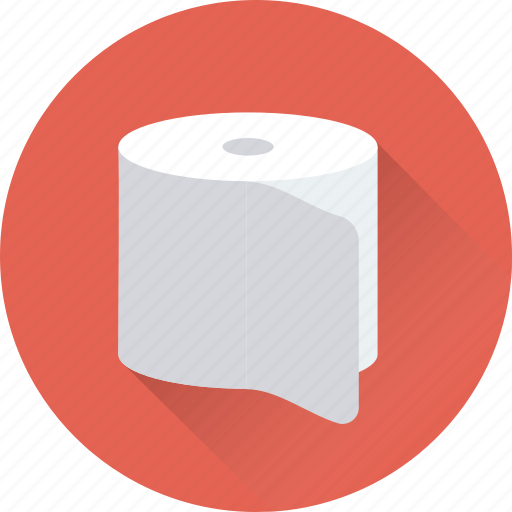 cleaning paper, paper roll, tissue paper, tissue roll, toilet paper icon