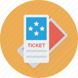 entry pass, museum ticket, pass, receipt, ticket icon