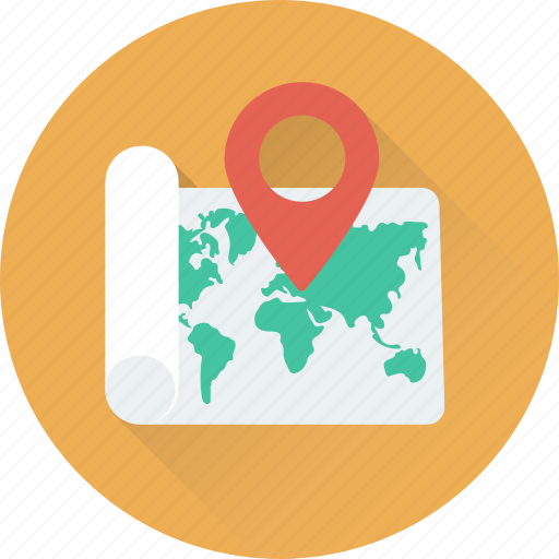location, location pin, map, map pin, navigation icon