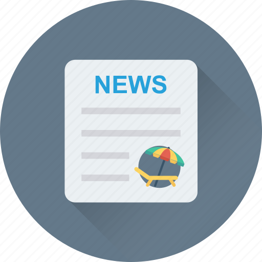 article, brochure, content, news, newspaper icon