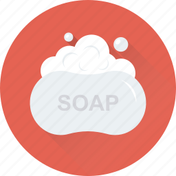 bath, foam, hygiene, shower, soap icon
