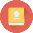 cuisine, food, menu, menu book, menu card icon
