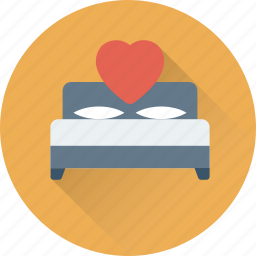 bed, bedroom, relax, rest, sleep icon