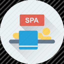beauty, massage, relaxation, salon, spa icon