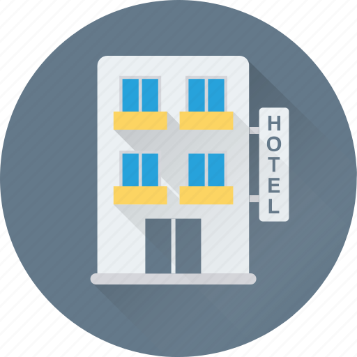 building, hotel, lodge, real estate, tourism icon