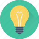 bulb, illumination, lamp, light, light bulb icon