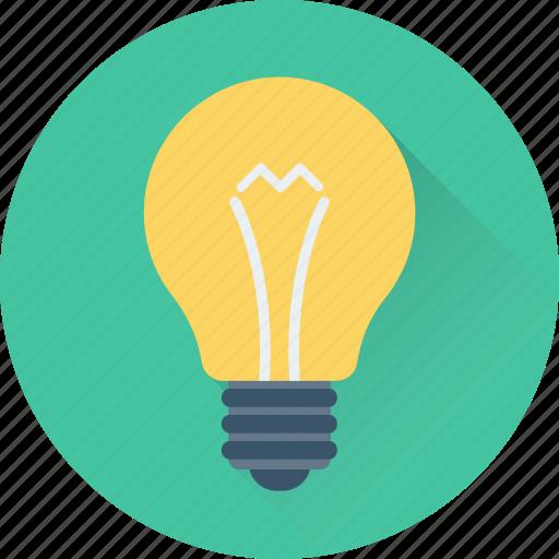 bulb, illumination, lamp, light, light bulb icon