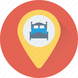 hotel location, location, map, map pin, navigation icon