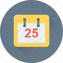 calendar, date, day, schedule, timeframe icon