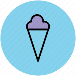 cake cone, cone, cup cone, dessert, frozen food, icecream, sweet icon
