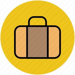 bag, briefcase, luggage, suitcase, travel, traveling icon
