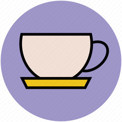 beverage, coffee cup, cup, drink, saucer, tea cup icon