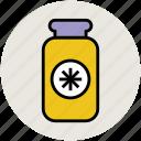 bottle, food container, jar, pot, vessel icon