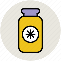 bottle, food container, jar, pot, vessel icon