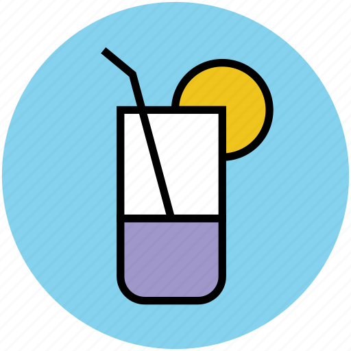 drink, glass, lemonade, soft drink, summer drink icon