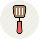 cooking, slotted spatula, spatula, spoon, turner spoon, utensil icon