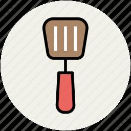 cooking, slotted spatula, spatula, spoon, turner spoon, utensil icon