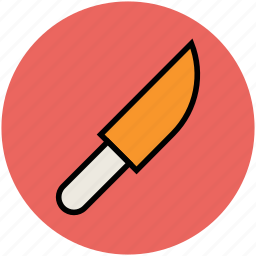 chef knife, cutting tool, kitchen accessory, knife, utensil icon