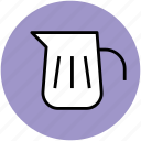 ewer, jail, jug, pitcher, tableware, water jug icon
