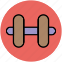 body building, dumbbell, exercise, free weight, gym, weight lifting icon