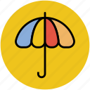 parasol, rain protection, sunshade, umbrella icon