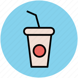 beverage, coffee cup, disposable cup, drink, juice cup, paper cup, smoothie cup icon