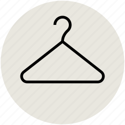 closet, cloth hanger, hanger, suit hanger, wardrobe icon