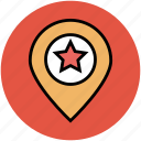 favourite location, gps, location marker, location pointer, map marker, navigation icon