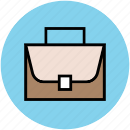 briefcase, documents bag, laptop bag, office bag, portfolio icon