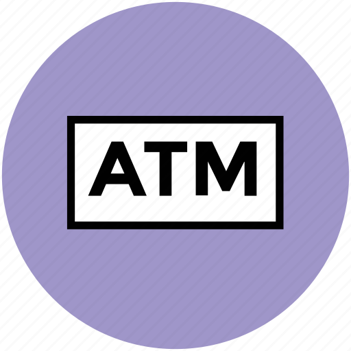 atm, atm machine, automated teller machine, cash line, cash machine, online banking icon