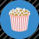 maiz box, popcorn, popcorn box, popping corn, snacks