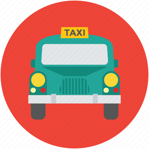 cab, public hire, taxi, taxicab, tourist car, vehicle, vehicle for hire icon
