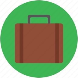 bag, briefcase, luggage bag, suitcase, tourist bag, travel bag icon