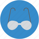 eyeglasses, eyewear, glasses, specs, spectacles, sun glasses icon