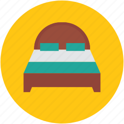 bassinet, bed, double bed, furniture, relax, sleep icon