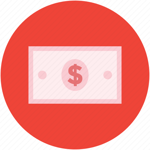 banknote, cash, currency, dollar, money, usd icon