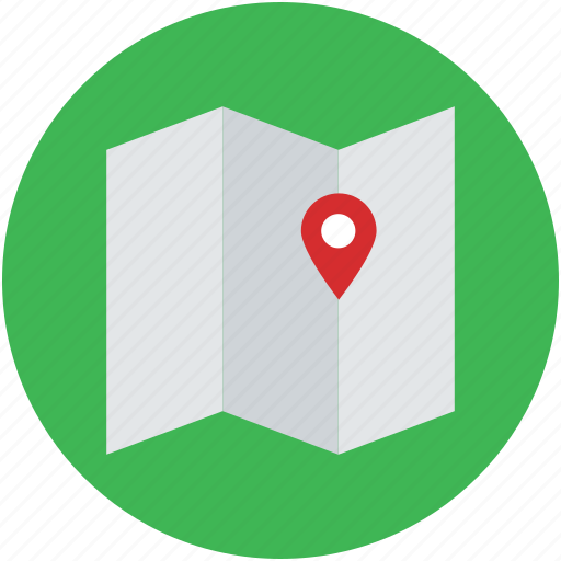 chart, draft, graph, map, mapping, plan, unfolded map icon