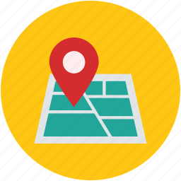 location mark, location pin, location pointer, locator, map, map location, navigation icon