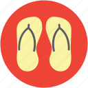 beach sandals, flip flops, footwear, jandal, sandals, shoe, summer shoes icon