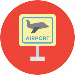 aeroplane, airbus, airliner, airplane sign, airport board, plane icon