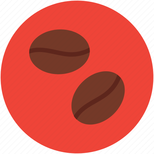coffee, coffee beans, coffee grains, coffee seeds icon