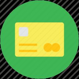 atm card, cash card, credit card, debit card, money card, plastic money icon
