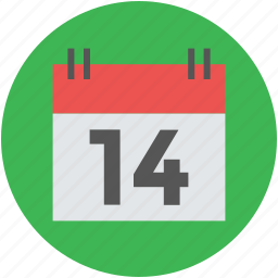calendar, date, event, month, schedule, yearbook icon