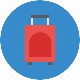 briefcase, business bag, luggage, luggage bag, suitcase icon