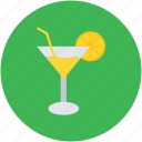 appetizer drink, beach drink, cocktail, drink, lemonade, margarita, summer drink icon