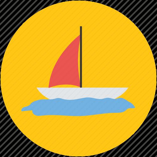 boat, cruise, ship, vessel, watercraft, yacht icon