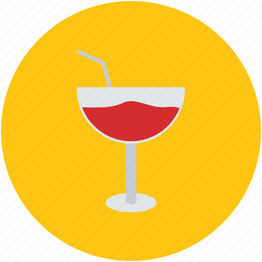 alcohol, beverage, cocktail, drink, glass, mocktail, wine icon