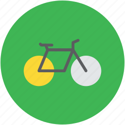 bicycle, cycle, cycling, pedal cycle, vehicle icon