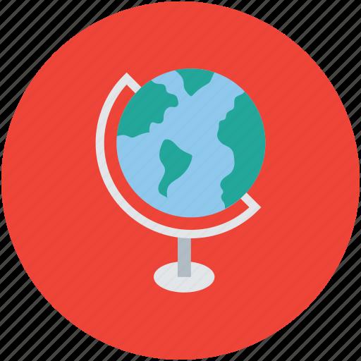global, globe, international, table globe, universal, world, worldwide icon