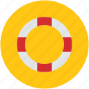 life ring, lifebelt, lifebuoy, lifesaver, ring buoy icon